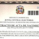 Ya no es necesario legalizar las actas en República Dominicana