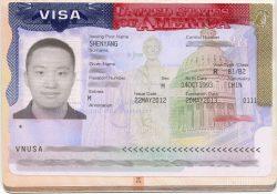 visa americana de paseo