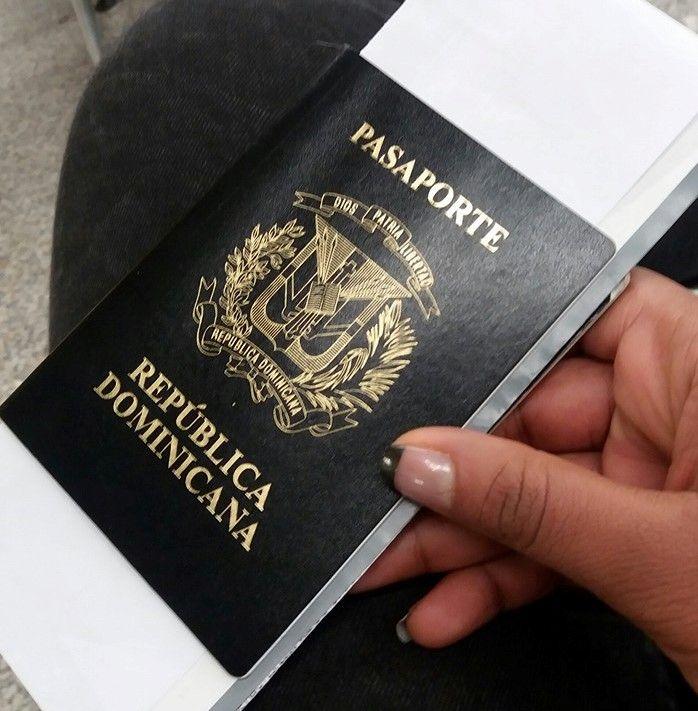 Pasaporte dominicano