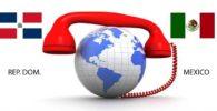 Como llamar desde Republica Dominicana a Mexico