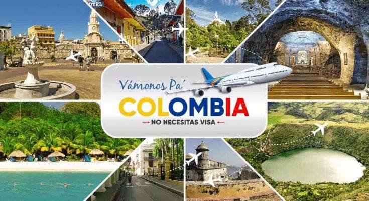 excursion para colombia