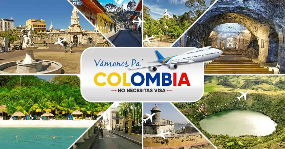 excursion para colombia
